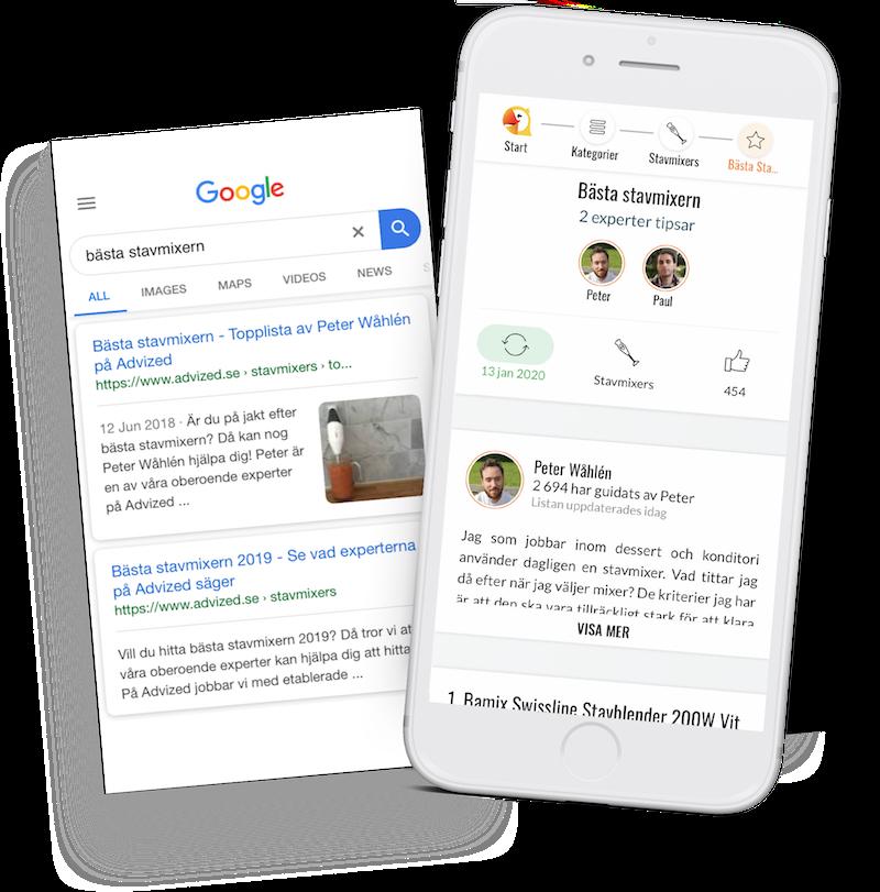 Strategi för att hamna högt på Google